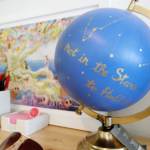 DIY Painted Quote Globe