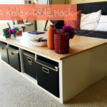 IKEA Kallax Table Hack