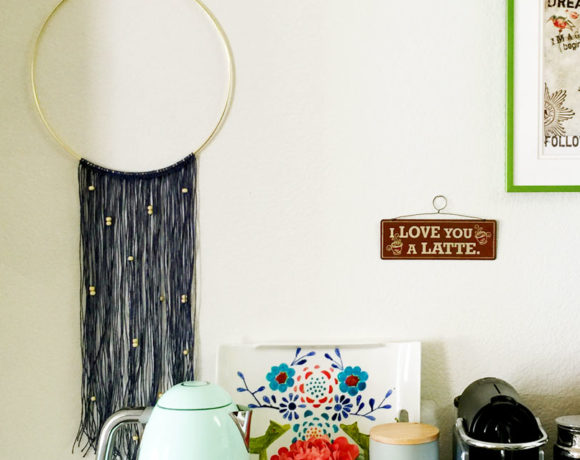 DIY Easy Macrame (ish) Wall-Hanging