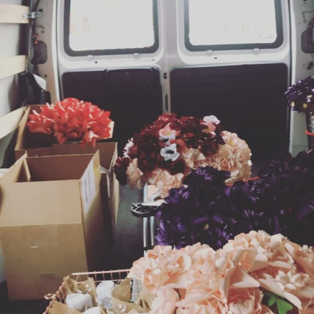 400 flowers 2 wreaths and 48 vases packed up andhellip